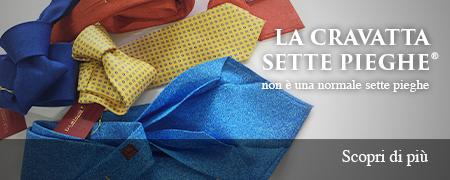 scegli originale a piedi a servizio eccellente Damiano Presta   Cravatte Sette Pieghe – Alta Sartoria ...
